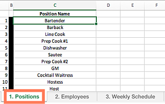 Schedule Employee Template from www.shiftnote.com