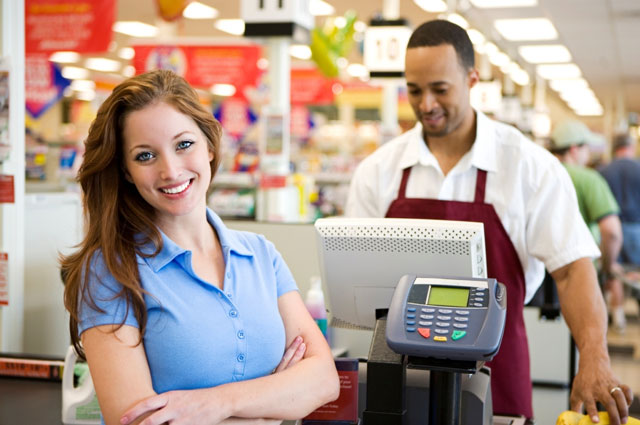 retail employee scheduling and manager log book