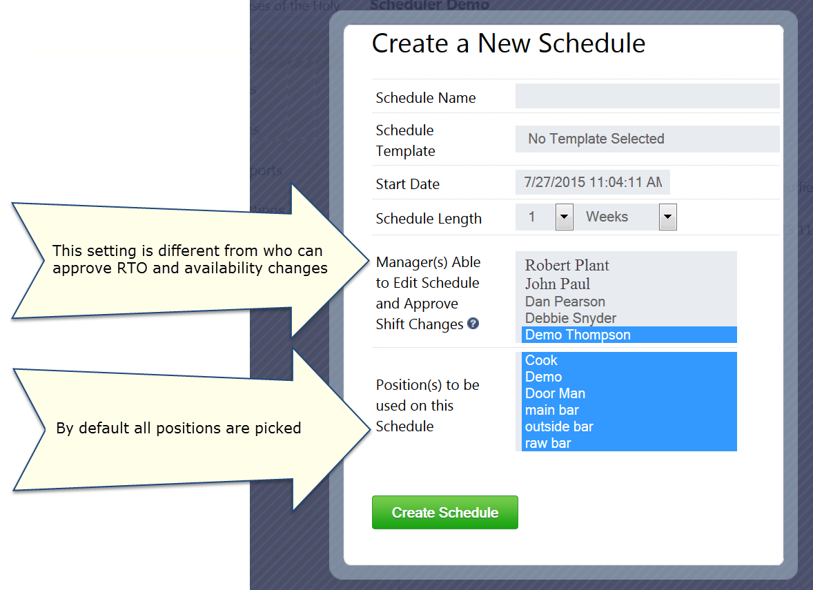 create schedule help screen shot 2