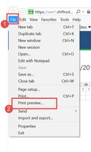 IE change print settings to include background image (2)