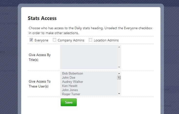 stat access