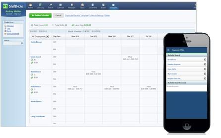 ShiftNote Scheduler – Employee Scheduling Software